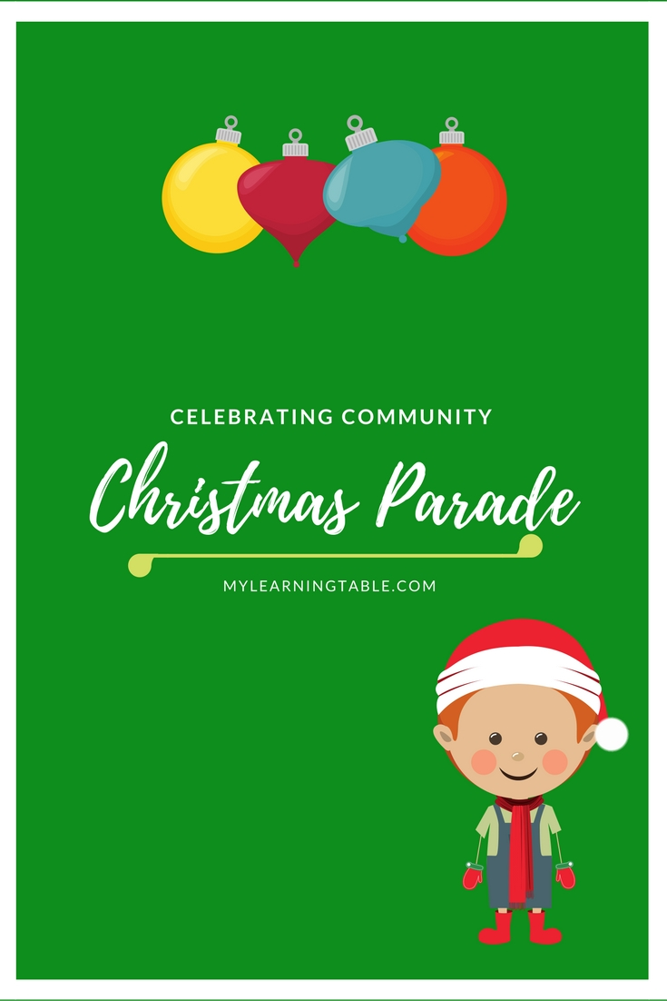Celebrate community events -- travel to your town's Christmas parade.