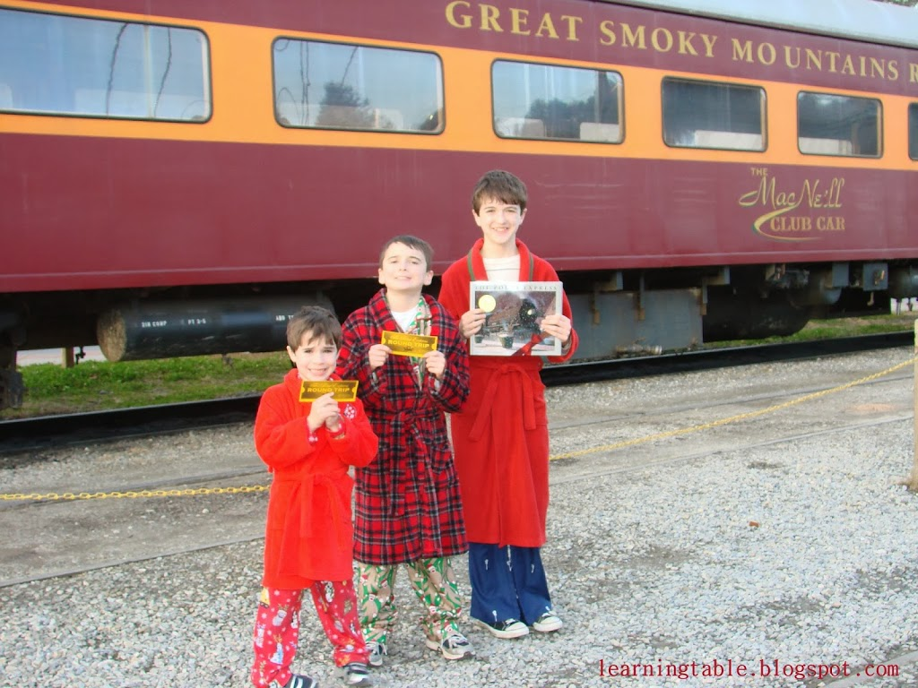 Polar Express @mylearningtable.com