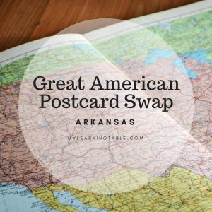Great American Postcard Swap: Arkansas