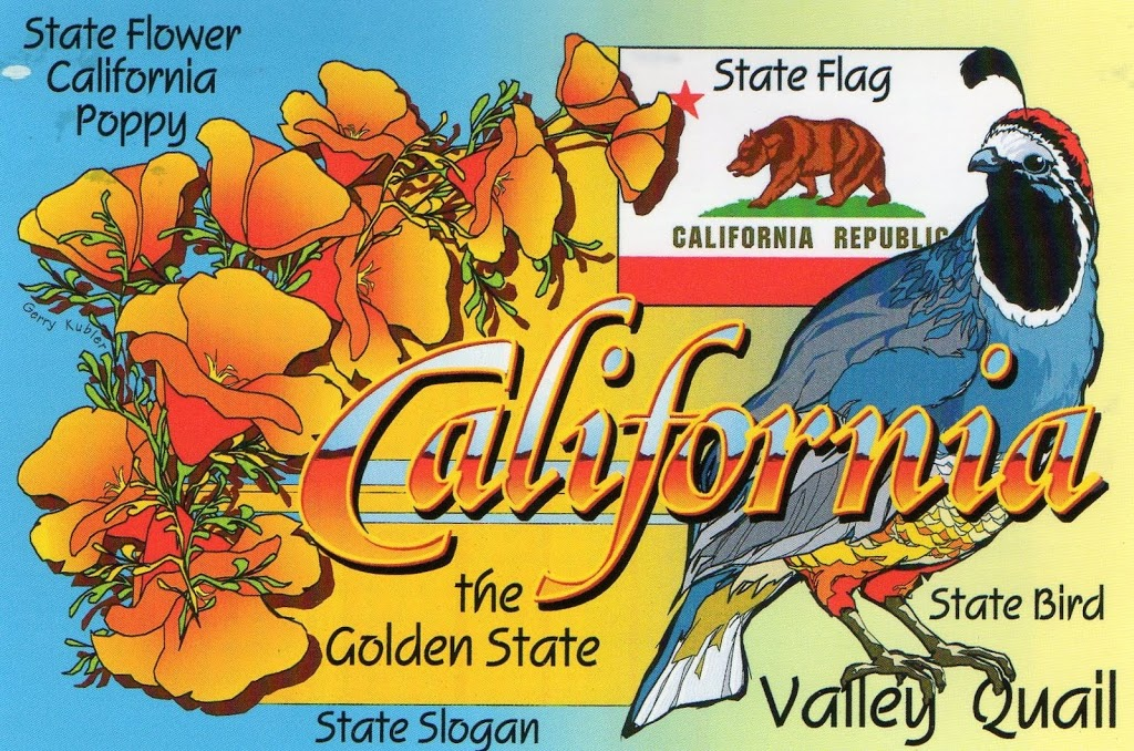 Great American Postcard Swap: California mylearningtable.com