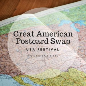 Great American Postcard Swap: USA Festival