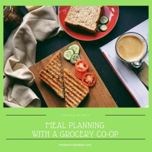 Meal Planning with a Grocery Co-op