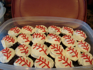 Kids Cook: Baseball Cupcakes