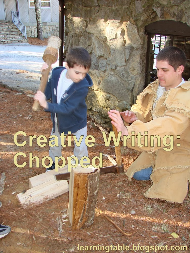 Creative Writing: Chopped @mylearningtable.com