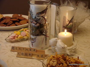 DIY BRIDAL SHOWER #wedding #DIY mylearningtable.com