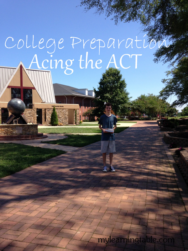 College Preparation: Acing the ACT mylearningtable.com