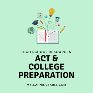High School Resources: ACT and College Preparation