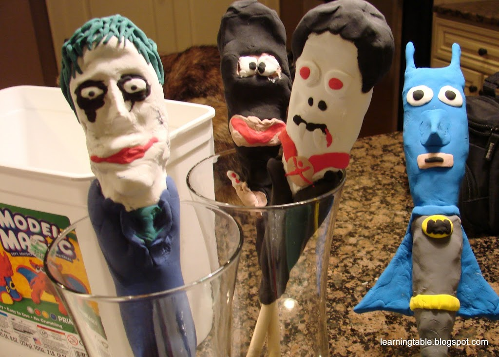 DIY Wooden Spoon Puppets @mylearningtable.com