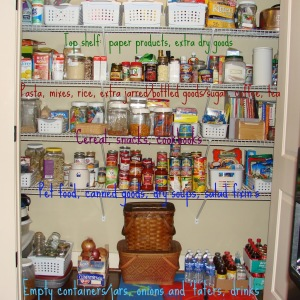 Pantry Organization @mylearningtable.com