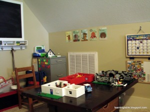 Our schoolroom @mylearningtable.com