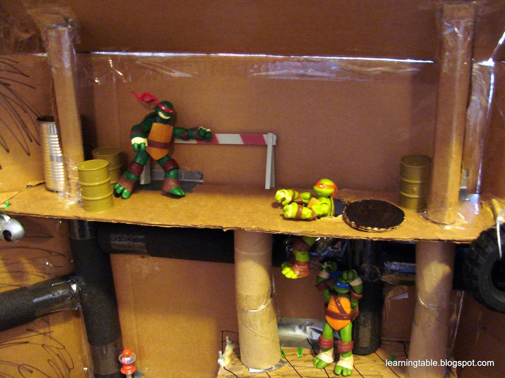 #DIY #TMNT @mylearningtable.com