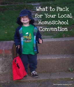 Homeschool Convention Packing Tips