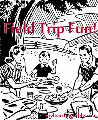 Field trip fun ideas @mylearningtable.com