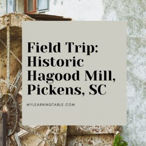 Field Trip: Hagood Mill, Pickens, SC