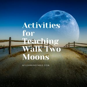 Activities for teaching Walk Two Moons by Sharon Creech