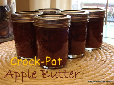 Crock-Pot Apple Butter @mylearningtable.com