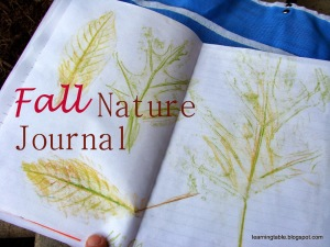 Autumn Inspiration: Fall Nature Journal
