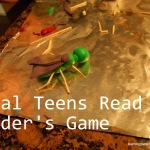 Real Teens Read Ender's Game @mylearningtable.com