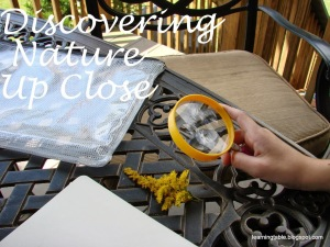 Discovering Nature Up Close @mylearningtable.com