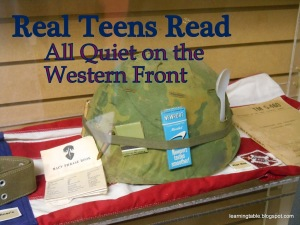 Real Teens Read: All Quiet on the Western Front