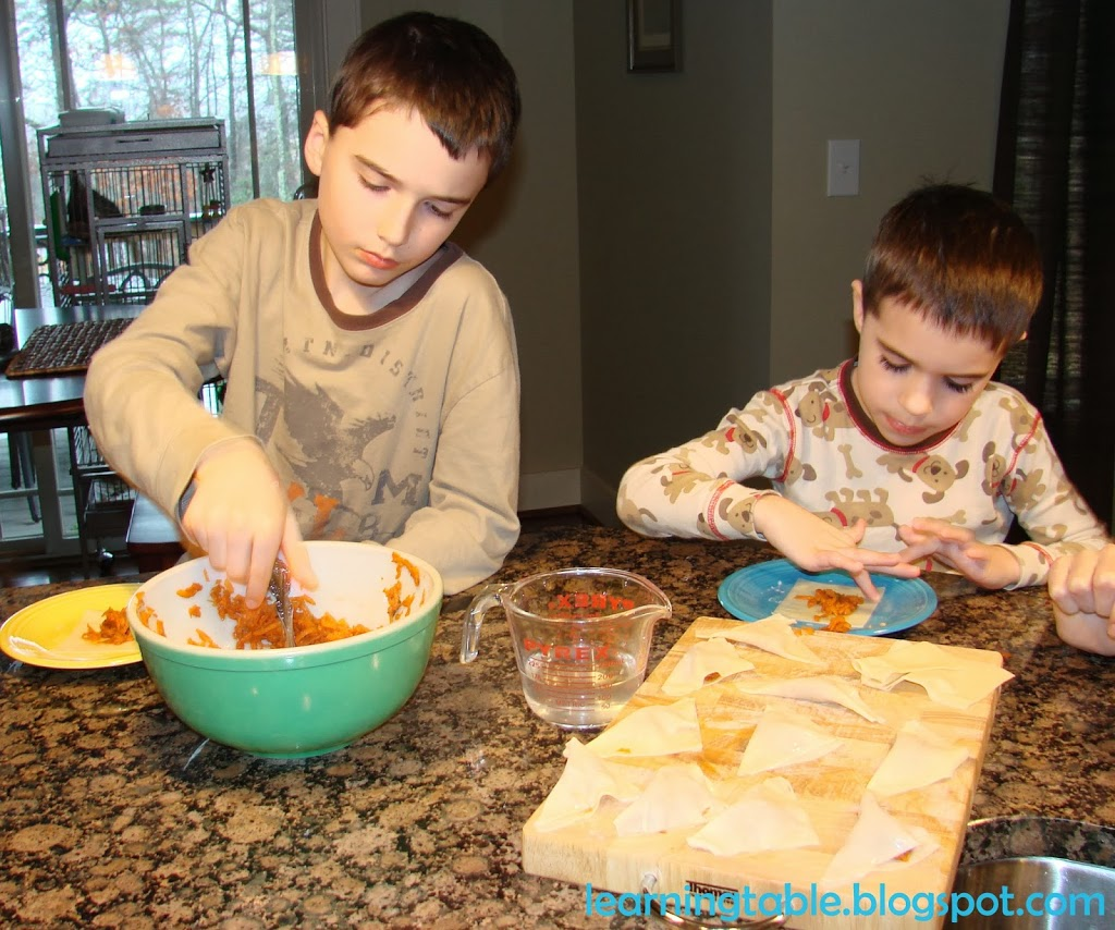 Cooking with kids for Chinese New Year @mylearningtable.com