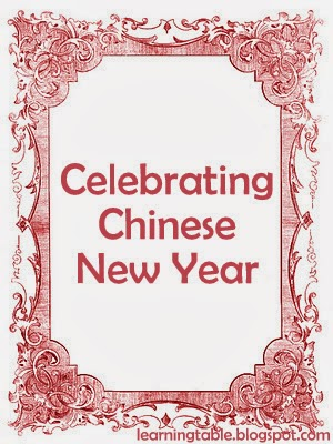 Chinese new year activities @mylearningtable.com