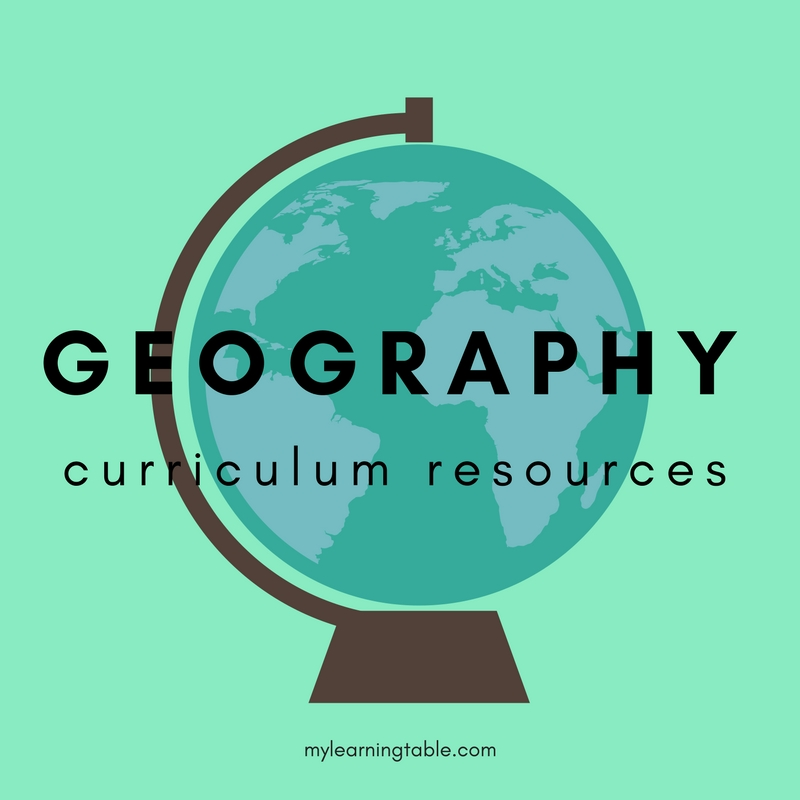 Elementary School National Curriculum: Geography Curriculum Resources