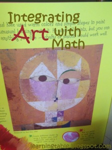 Art & Math @mylearningtable.com