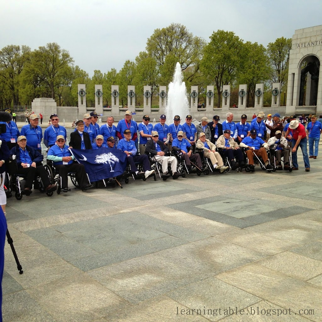 Honor flight @mylearningtable.com