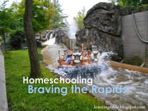 Homeschooling: Braving the Rapids