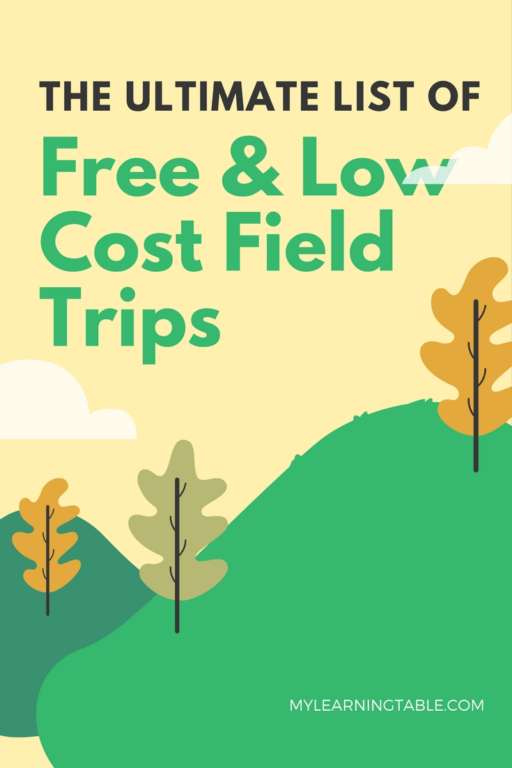 The ultimate homeschool guide to free & low cost field trips.