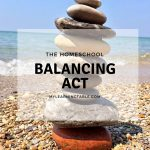 The Homeschool Balancing Act