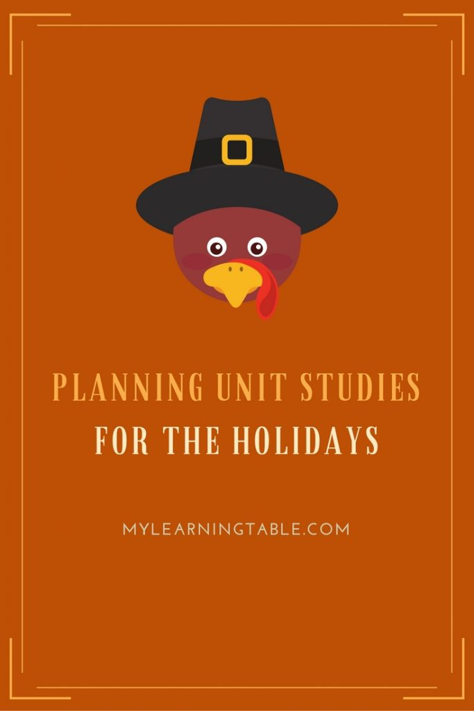 Teaching ideas for fall and holiday homeschool unit study