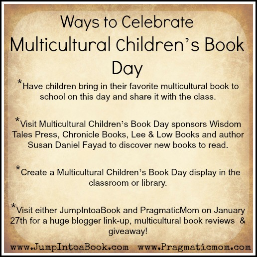Multicultural Children's Book Day @mylearningtable.com