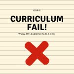 Curriculum Fail!