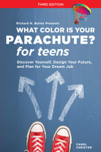 What Color is Your Parachute for teens @mylearningtable.com