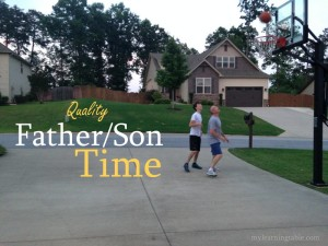 IDEAS FOR QUALITY FATHER SON TIME #parenting #dads mylearningtable.com