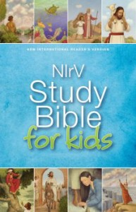 NIrV Study Bible for Kids #youngreaders #Bible mylearningtable.com