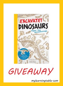 Giveaway: Excavate! Dinosaurs