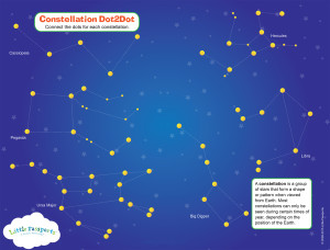 FREE CONSTELLATION ACTIVITY #science #astronomy mylearningtable.com
