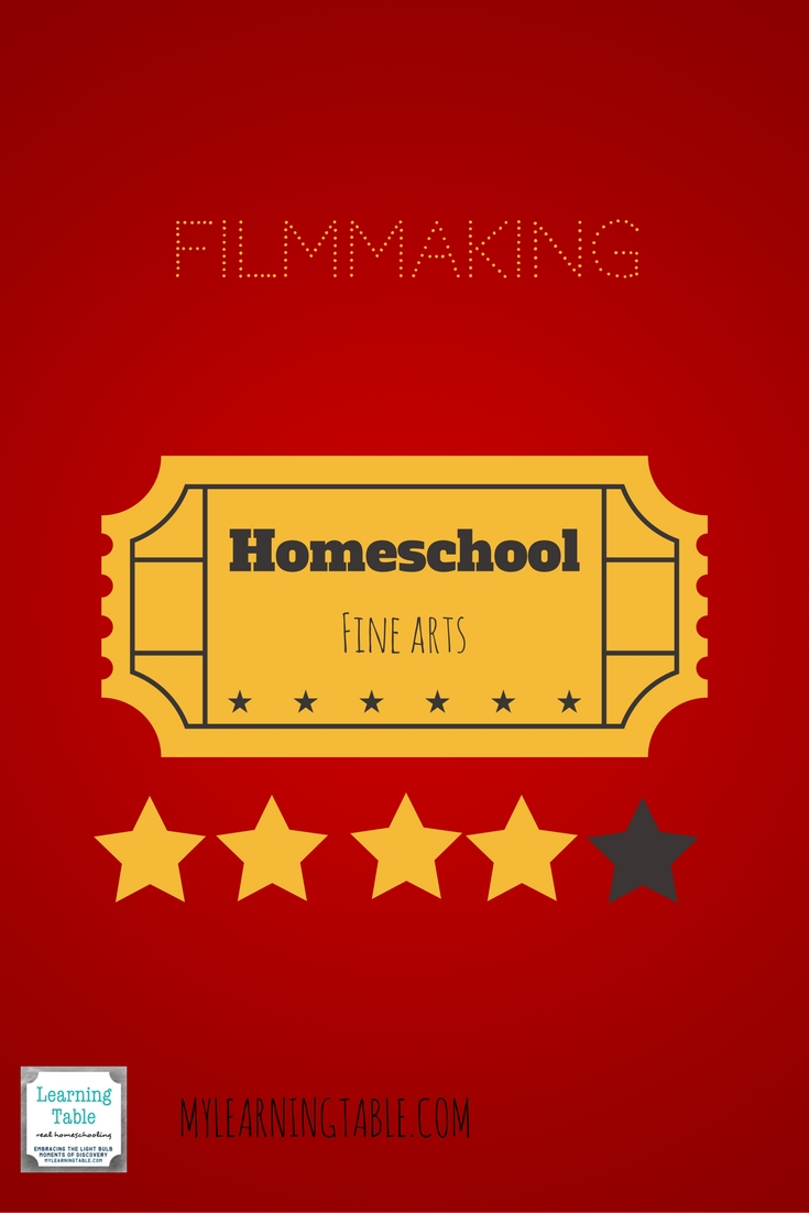 How to use a course on filmmaking for high school fine arts elective credit.
