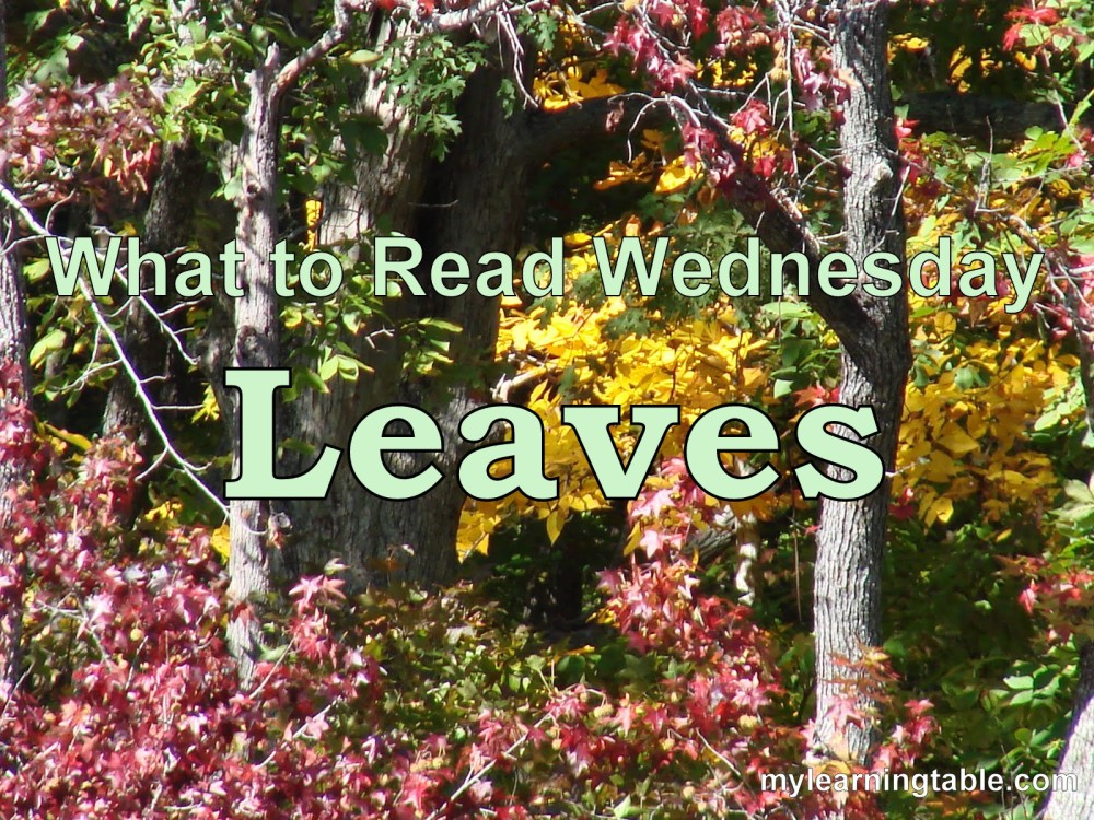 WHAT TO READ WEDNESDAY: LEAVES mylearningtable.com