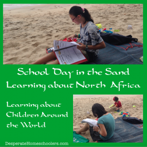 Learning-about-North-Africa-in-the-sand