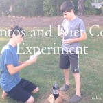 Mentos and Diet Coke Experiment mylearningtable.com