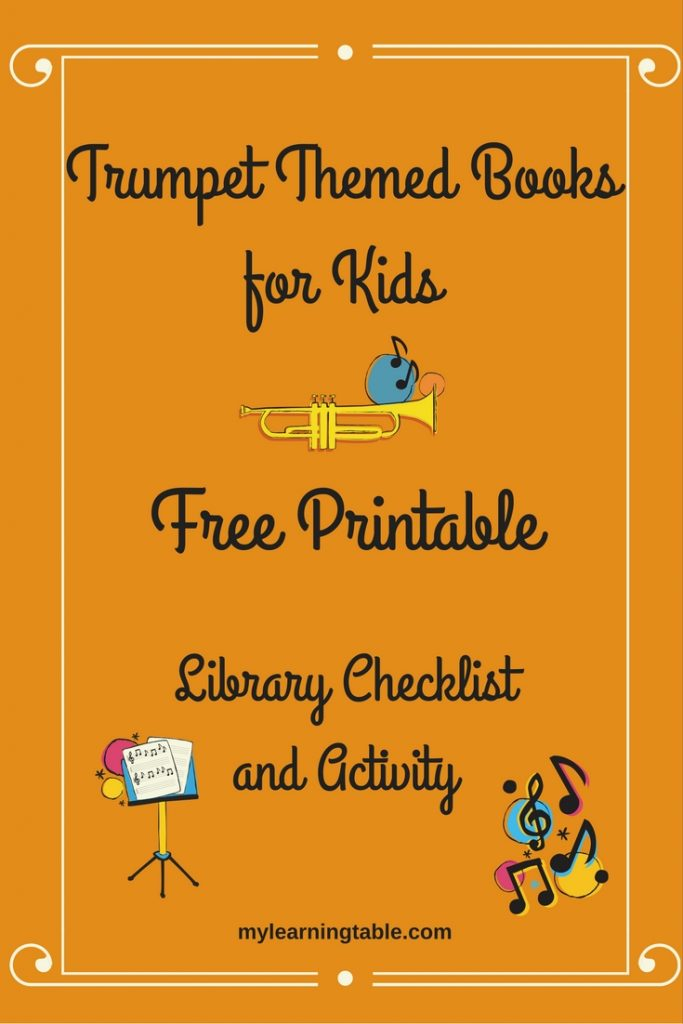 Trumpet Themed Books for Kids