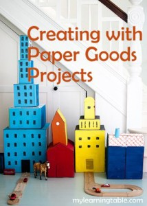 Paper Goods Projects mylearningtable.com