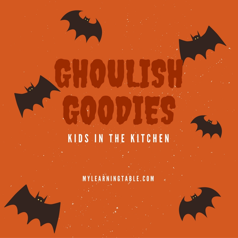 GHOULISH GOODIES mylearningtable.com