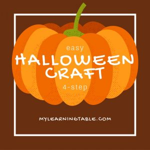 Easy 4-Step Halloween Craft