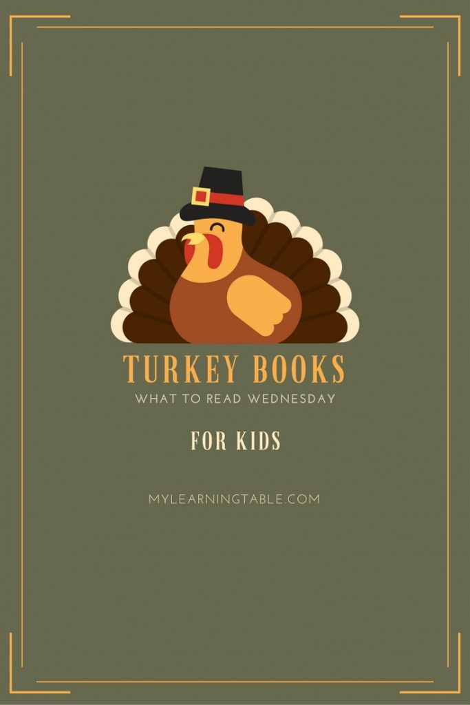 The best turkey books for kids for the holiday season and free printable activity.