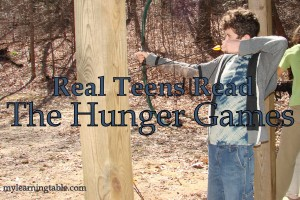 Real Teens Read The Hunger Games mylearningtable.com